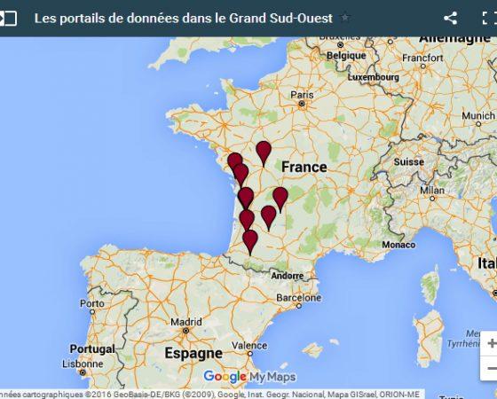Où en est l'open data dans le Grand Sud-Ouest ?